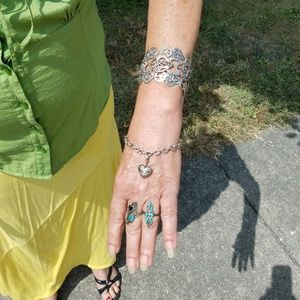 Silver & Turquoise choice $25.00
